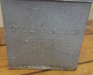 Dolly Madison Milk Box