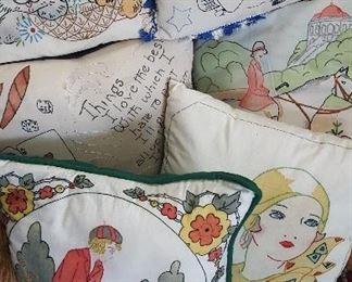 Wonderful Vintage Pillows