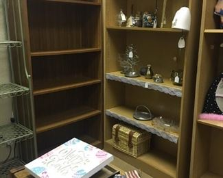 Example of some of the bookshelves