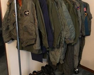 Military Jackets Vietnam Era Uniforms and flight suits Boots.....
