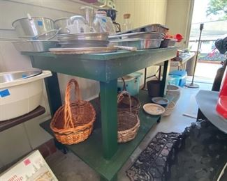 the green table is for sale too