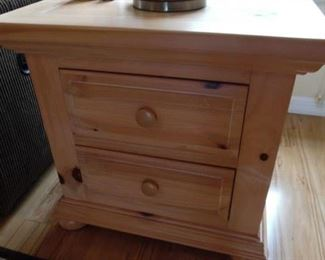 Broyhill Cabinet with 2 Drawers