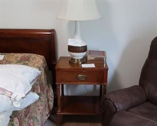 lamp  table  and  lamp