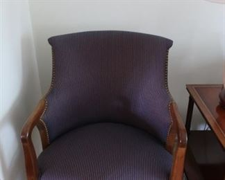 very  nice  stripe  chair