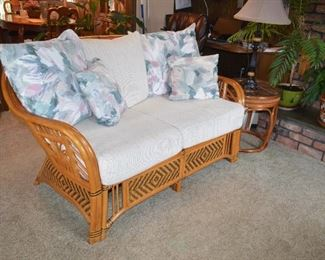 """Cushions come off 6ft W x 27""""D x x 34""""H"""