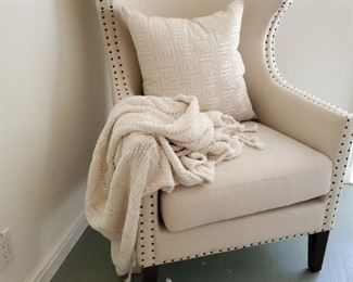 Wing geo chair $409 each * THROW SOLD