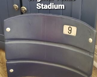 Original Texas Stadium Seat Back