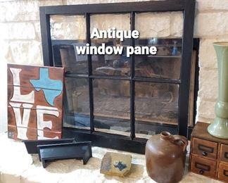 Antique Window Pane