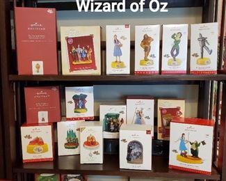 Wizard of Oz Hallmark Ornaments