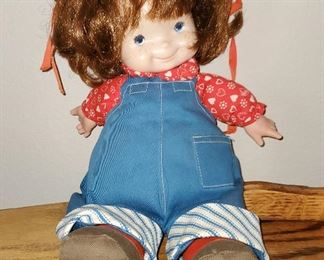 """1974 Fisher Price """"Audrey"""" Lap Sitter Doll"""
