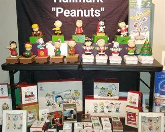 Huge Hallmark Peanuts collection of ornaments