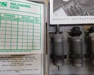 .40 S&W Reloading Die Set / 10mm  RCBS