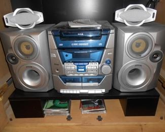 Disc Player and speakers
