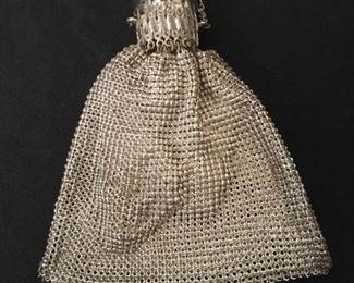 Lovely Vintage Metal Mesh Bag