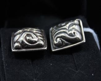 Sterling Cuff Links