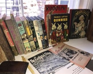 Vintage books  Vintage children's books Vintage adult book Ice cream  The Rockford story Nancy drew  Raggedy Ann