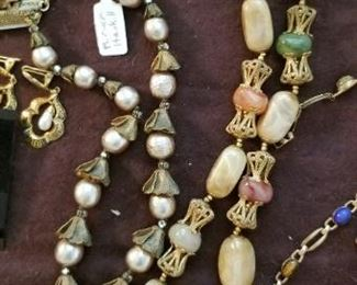 Miriam Haskell!! very nice pieces