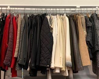 nice ladies jackets, blazers, sweaters all designer