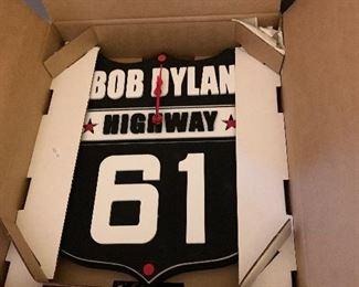 Bob Dylan clock
