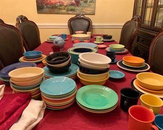 Huge selection of fiesta ware