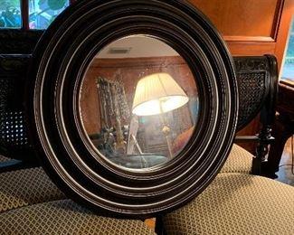 Nice round mirror