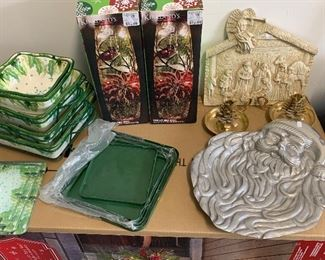 A few Christmas items