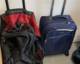 Luggage, duffel bags, and much more