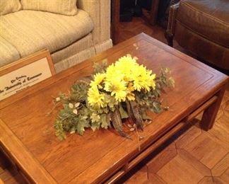 Henredon coffee table