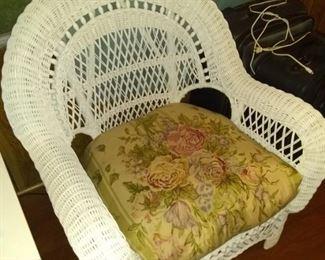 2 nice wicker chairs