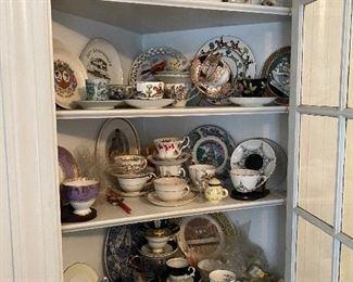 Tea cups galore!