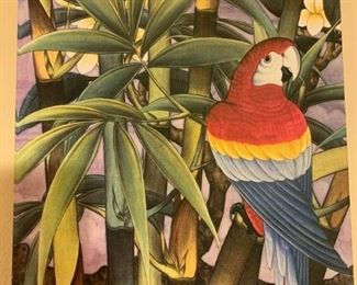 2 Bird Forest Canvas Prints