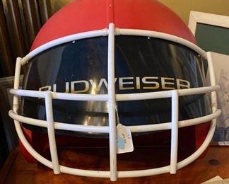 HUGE KC Chiefs Budweiser Helmet