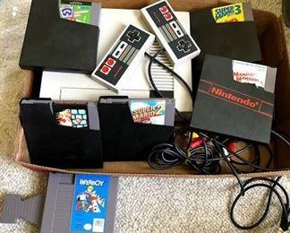 Nintendo NES gaming sytem