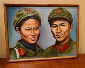 Buzz Lee original China Couple