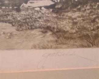 Etching signature one