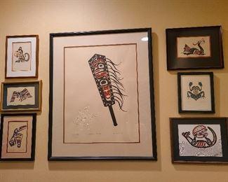 Pacific Northwest art prints signed
