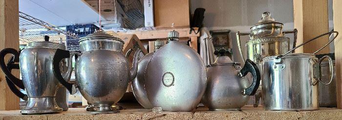 vintage coffee pots