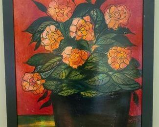 WM Verdult MCM painting Flowers