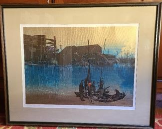Elton Bennett The Returning signed print