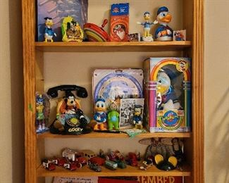 Disney collection and vintage cars toys games
