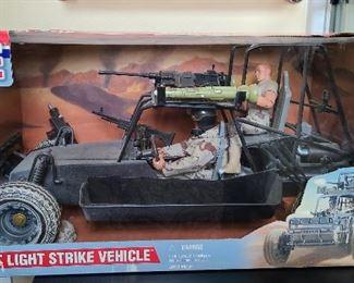 GI JOE Desert Light Strike Vehicle