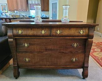 Handsome antique dresser