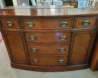 Handsome antique sideboard