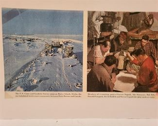 Lot 10 Abe Simmons and collector Ralph Woodworth Geodetic Survey Party 1945 Barrow AK