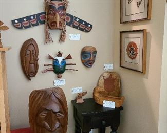 Native American Artifacts collection overall view