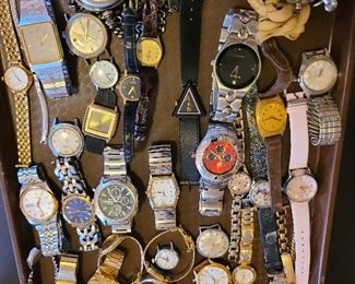 Watches galore