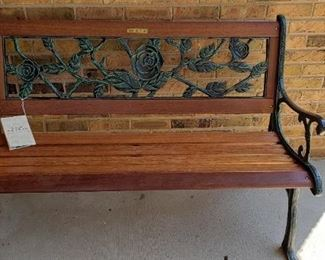 Berkeley garden bench, new