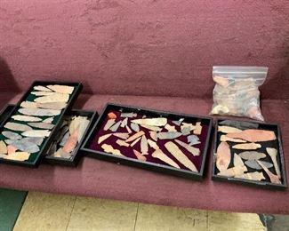 5 trays of Arrowheads