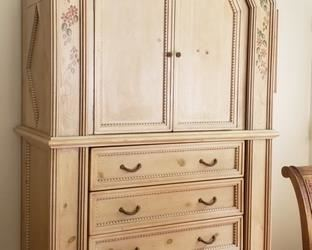 "Armoire by Elden Collection $400                                    51.5""W x 25.75""D x 83""H"