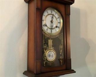 Antique 31 day pendulum clock